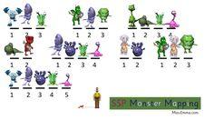 Monster Mapping - Dream Team Resource Miss-Emma.com