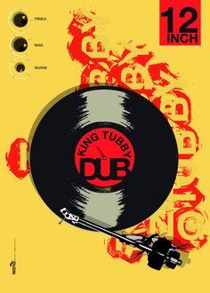 dub and reggae in graphic design - Google Search