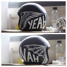 """mickbar12: """" Helmet art """""""