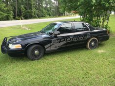 "Alabama-Coushatta Tribal Police Dept. ""Ghost"" Ford Crown Victoria"