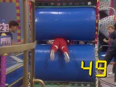No Small Splatter: The 10 Slimiest Stunts of 'Double Dare'   Mental Floss