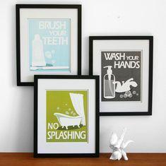 Bath Wall Art free bathroom printables