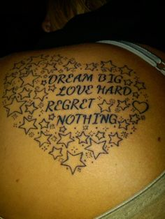 my tattoo..words to live by.