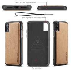 WHATIF Natural Kraft paper Leather Case for iPhone X is available in Classic Black and Brown. The WHATIF case keeps your iPhone X safe, sleek and stylish. Kraft Paper, Diy Paper, Leather Case, Protective Cases, Black And Brown, Zip Around Wallet, Iphone Cases, Cover, Stuff To Buy
