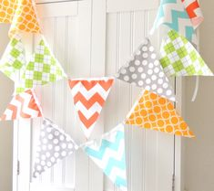 Boy Baby Shower Banner Bunting Fabric Flags by vintagegreenlimited, $17.00