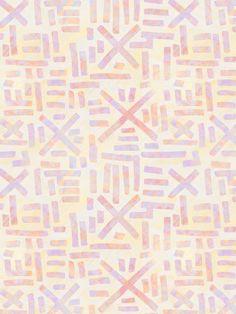 AIR Art Print by SchatziBrown #tribal #pastel #pattern