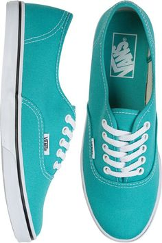 Since I unintentionally made everything in our apartment this color, might as well have some vans this color