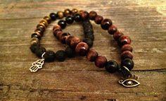 Handmade bracelets made by Unbound Essentials.