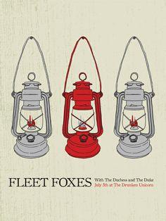 GigPosters.com - Fleet Foxes - Dutchess And The Duke, The