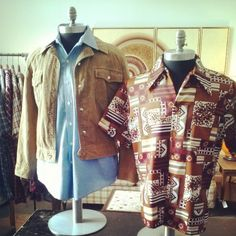 Vintage Men's Clothes in the Man's Room at Hot House Market  www.hothousemarket.com