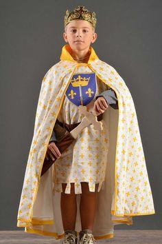 Déguisement garçon cape chevalier - Chevalier de Jeanne d'Arc