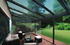 Examples of Glass Houses Glass Rooms Verandas Atriums