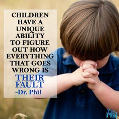 Parents, remember this ...