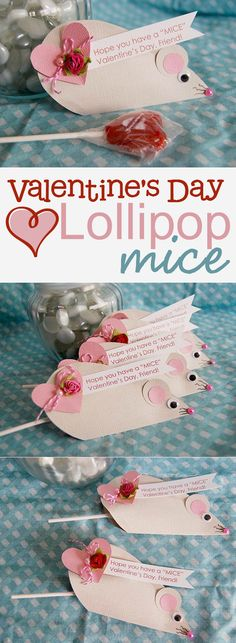 http://creativemeinspiredyou.com/give-cheesy-valentines-2/ Valentine's, love, February, love, gifts, class gift, projects,, crafts, kids craft, kid crafts, diy, handmade, homemade, lollipop, valentine,valentine'd day, mouse