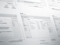 Over the past few months I've been working closely with the guys over at Hall.com on their new application. These are a set of high fidelity wireframes that I produced outlining the key interface e...