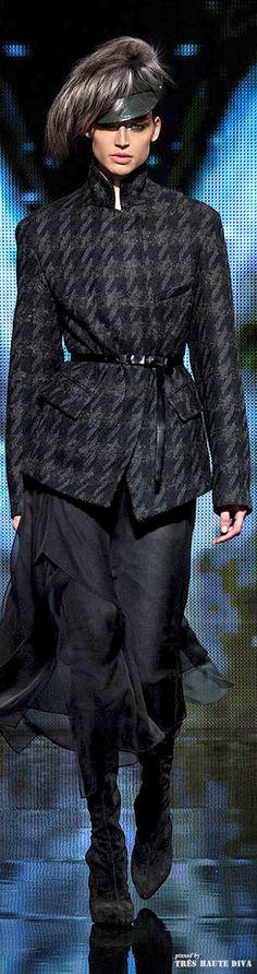 Donna Karan FW 2014-15 - New York Fashion Week. #Modest doesn't mean frumpy. #DressingWithDignity on.fb.me/1lfqxT2