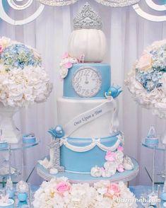 Trendy Cake Designs For Teens For Kids Ideas Cinderella Sweet 16, Cinderella Theme, Cinderella Birthday, Cinderella Wedding, Princess Birthday, Cinderella Cakes, Cinderella Quinceanera Themes, Quinceanera Cakes, Quinceanera Decorations