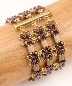 Instructions for Lattice Gates Beadwoven Bracelet par njdesigns1