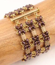 Instructions for Lattice Gates Beadwoven Bracelet par njdesigns1