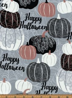 Halloween Words Halloween Fabric - Potions & Spells Collection by ... : quality quilting fabric - Adamdwight.com