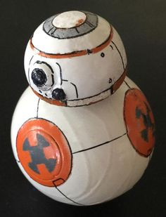 Industrial designer Christian Poulsen created a homemade BB-8 ball-bot from Star Wars that actually works!