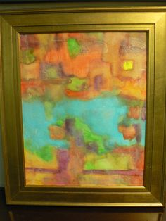 Be sure to bid on this colorful abstract painting from Scott Kitts! A wonderful addition to any room!  Retail Value: $350.00