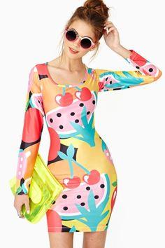 Fruit Pop Dress http://www.nastygal.com/lookbooks-lazy-oaf-x-nasty-gal/fruit-pop-dress