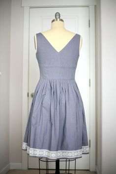 """I saw this dress on ModCloth months ago, way before it was warm enough to wear, and thought, """"Wow, that's a unique design. What a weir..."""