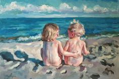 Custom Painting from your photo Oil Painting by MissBlackEyes, $150.00