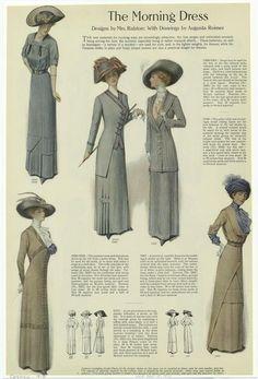 Edwardian Gowns, Edwardian Fashion, Vintage Fashion, 1900s Fashion, Edwardian Style, Medieval Fashion, Vintage Beauty, Historical Costume, Historical Clothing