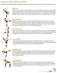 People ask me for some good excersises to lengthen and strengthen their bodies... I use these all the time