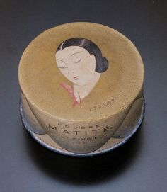 AM on The Present Tense: Art Deco Packaging (Make Up)