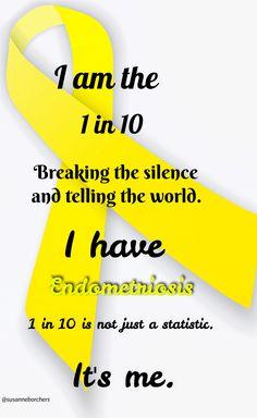 It's me #endometriosis