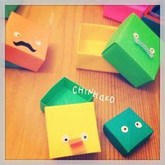 間抜けヅラすぎる。#chinhako #origami - @chinhako- #webstagram