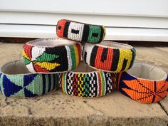 Hand made bangles from Sierra Leone Old Jewelry, Ethnic Jewelry, African Accessories, Fashion Accessories, Africa Fashion, West Africa, Sierra Leone, Fashion Editor, World Of Fashion
