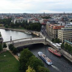 Berlin and the river Spree.