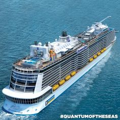Newest Ship! - Quantum of the Seas | Royal Caribbean International Looking forward to our cruise!
