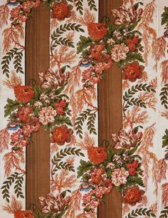 Philadelphia Museum of Art - Collections Object : Bed Curtain English 1809 block print
