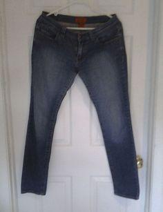 $1 Women's RED FOXX Size MEDIUM Blue Jeans  #RedFoxx #SlimSkinny