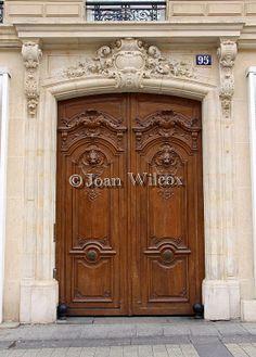 Paris Door Architectural Fine Art Paris France Original by JWPhoto, $14.00