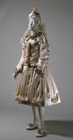 Girl's Fancy Dress Costume, 'Folly' | LACMA Collections