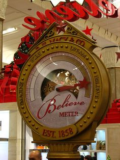 Macy's Christmas decorations, NYC--would love to make something like this for a scrapbook page or home decoration