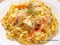 Pasta an Lachs-Sauce #thermomix