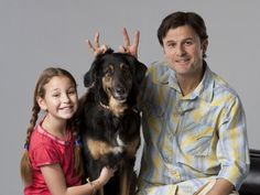 A rescue dog steals the show in a new family moving opening this weekend.