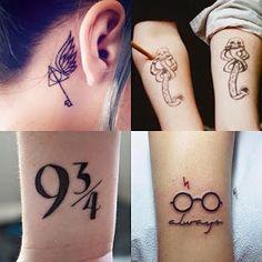 Tatuagens inspiradas em Harry Potter ♥