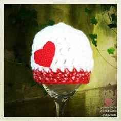 Newborn Crochet BeanieReady to shipFREE by peacelovecreations, $13.00