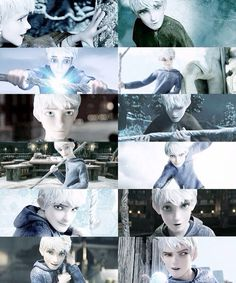 Jack Frost!! My favorite cartoon non-anime crush.