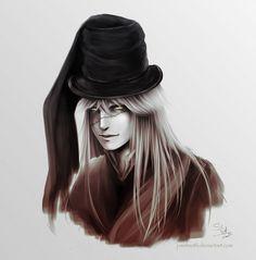 Undertaker sketch portrait by J-Melmoth