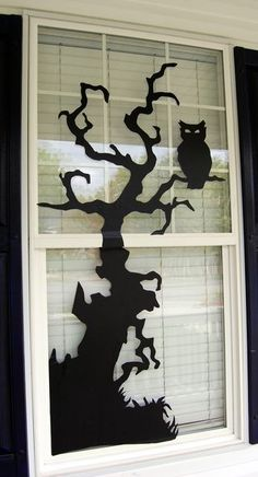 halloween - window