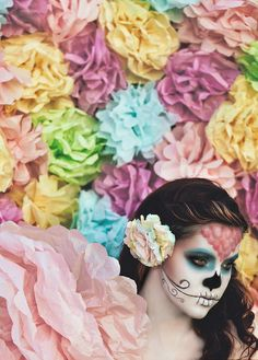 Sugar Skulls, Paper Flowers; Chasing Light, The Golden Hour, via Flickr.  Brandon Christopher Warren